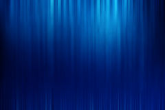 Blue abstract background with motion speed lines. And space for text or design Stock Photography