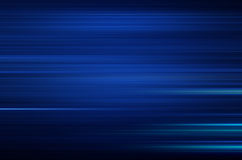 Blue abstract background with motion speed lines. And space for text or design Royalty Free Stock Photos
