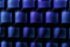 Blue. Abstract background out of cubes Royalty Free Stock Images