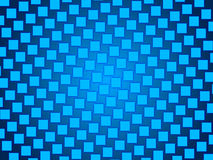 Blue abstract background, particles squares. Grid Royalty Free Stock Photo