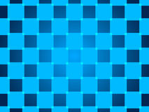 Blue abstract background, particles squares Royalty Free Stock Photos