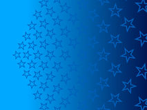 Blue abstract background, particles stars. Grid Royalty Free Stock Images