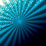 Blue abstract  background. Blue abstract background with ray light vector illustration Stock Photo