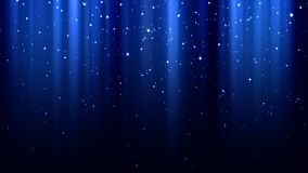 Blue abstract background with rays of light, sparkles, northern lights, starry sky. Blue abstract background with rays of light, sparkles, northern lights, night Stock Image