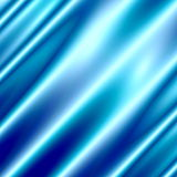 Blue Abstract Background. Silk Texture. Modern Illustration. Luxurious Wallpaper Design. Velvet or Drape. Glowing Light Effect. Royalty Free Stock Photography
