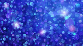 Blue abstract background of small hexagons. Abstract background of small hexagons in blue colors Stock Image