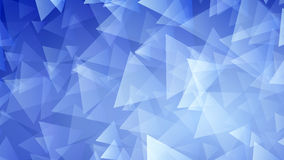 Blue abstract background of small triangles. Abstract background of small triangles in blue colors Stock Image