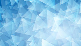 Blue abstract background of small triangles. Abstract background of small triangles in blue colors Stock Photography