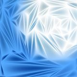 Blue abstract background smooth metal plate as Stock Photo