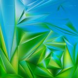 Blue abstract background smooth metal plate as. Modern banner template Royalty Free Stock Images