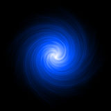 Blue abstract background spiral Royalty Free Stock Photography