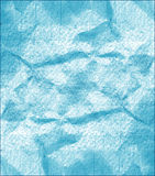 Blue abstract background with spots. Crumpled background stock illustration
