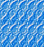 Blue abstract background of squares Stock Photography