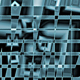 Blue abstract background for technology Stock Photos
