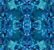 Blue abstract background with texture of topaz. Blue abstract background with beautiful texture vector illustration