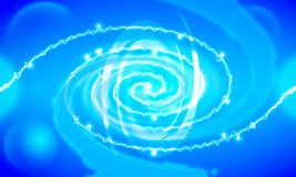 Blue abstract background. Blue background To demonstrate the cute bright. The general use as a background Royalty Free Stock Photos