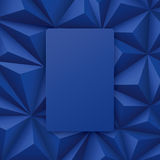 Blue abstract background vector. Stock Images