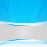 Blue abstract background vector for copy space.  Royalty Free Stock Photography