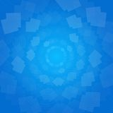 Blue abstract background. Blue vector abstract background with shapes Stock Image