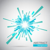 Blue abstract background vector Royalty Free Stock Photography