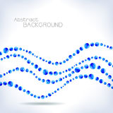Blue abstract background. Royalty Free Stock Photos