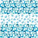 Blue abstract banner Royalty Free Stock Image