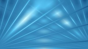 Blue abstract beams background Royalty Free Stock Image