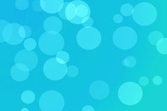 Blue abstract blurred background Royalty Free Stock Photos