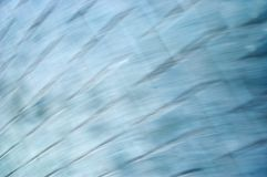Blue abstract blurred texture of modern office building reflection in water toned colorized image Royalty Free Stock Photos