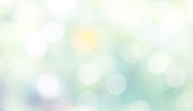 Blue abstract bokeh background. Shiny and bright Royalty Free Stock Image