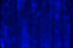 Blue abstract bokeh background Royalty Free Stock Image