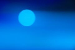 Blue abstract bokeh background Stock Photos