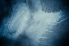 Blue abstract brushed surface Stock Photos
