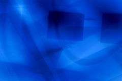 Blue abstract business background. Modern Stock Image