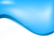 Blue abstract business background. Concept, illustration Royalty Free Stock Image