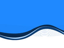 Blue abstract business background. Concept vector illustration