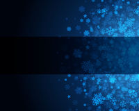 Blue abstract christmas background Stock Photos