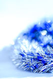 Blue abstract Christmas decoration background royalty free stock photos