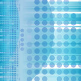 Blue abstract circles background Royalty Free Stock Image