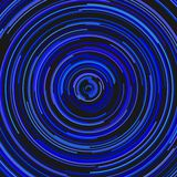 Abstract circular background from concentric circles. Blue abstract circular background from concentric circles vector illustration