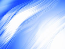 Blue abstract composition Stock Photo