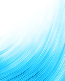 Blue abstract composition Stock Image