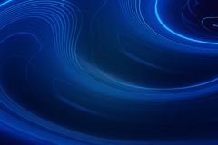 Blue abstract, Computer generated Blue background, copy space banner royalty free stock images