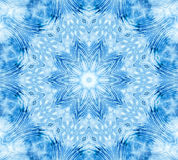 Blue abstract concentric pattern Stock Photos