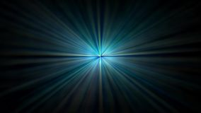 Blue abstract dark background, kaleidoscope light, 1920x1080 stock illustration