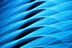 Blue abstract wave of light stock illustration
