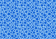 Blue abstract dot pattern Royalty Free Stock Photography