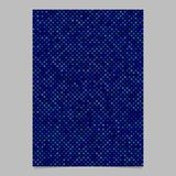 Blue abstract dot pattern brochure background - vector template design. Blue abstract dot pattern brochure background - vector stationery template design Stock Images