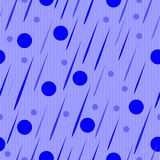 Blue abstract drops Stock Photography