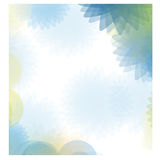 Blue abstract figures background icon. Illustraction design Royalty Free Stock Photos